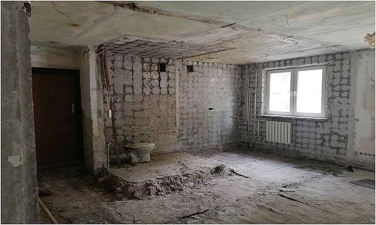 Капитальный ремонт квартир демонтаж