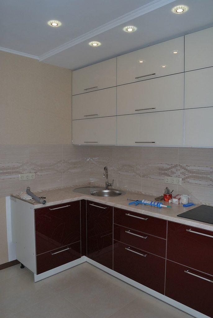 Ремонт новой квартиры - кухня фото наших работ.